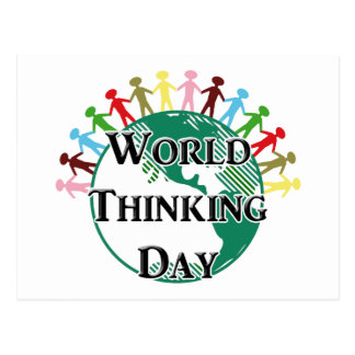 World Thinking Day Postcard