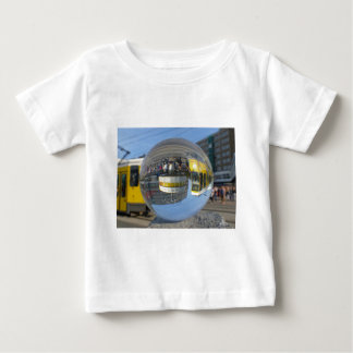 World Time Clock, Alex, Berlin, crystal ball Baby T-Shirt