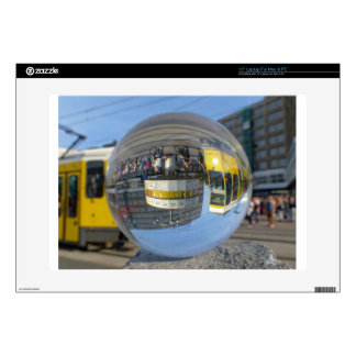 World Time Clock, Alex, Berlin, crystal ball Laptop Skins