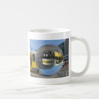 World Time Clock, Alex, Berlin, crystal ball Classic White Coffee Mug