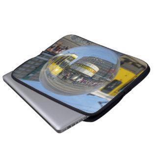 World time Clock, Alexanderplatz, Berlin Laptop Sleeve