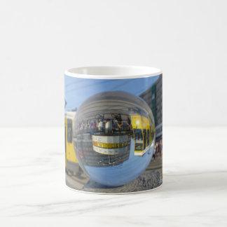 World time Clock, Alexanderplatz, Berlin Classic White Coffee Mug