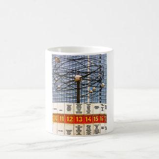 World Time Clock, Alexanderplatz, Berlin, Saturate Classic White Coffee Mug