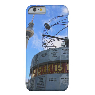 World time Clock with Berlin TV Tower, Alex Barely There iPhone 6 Case