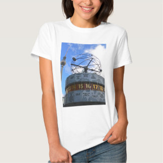 World Time Clock with Berlin TV Tower, Alex T Shirt