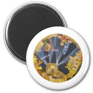 WORLD TO COME 2 INCH ROUND MAGNET