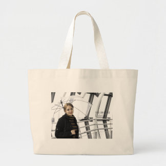 """World top famous popular select beautiful model "" Large Tote Bag"