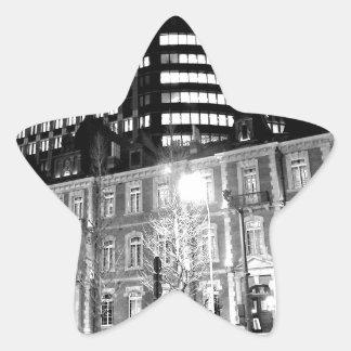 world top modern universal art akagi star sticker
