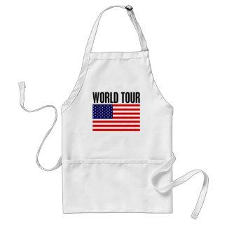 World Tour Adult Apron