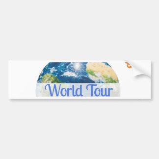 World Tour Bumper Sticker