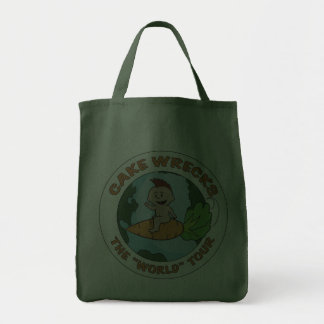 """World"" Tour Grocery Tote Grocery Tote Bag"