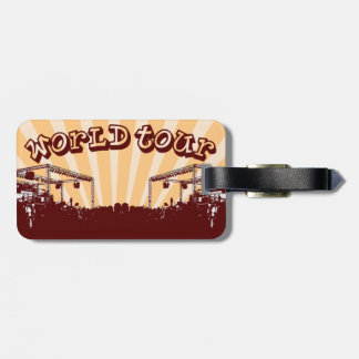 World Tour Travel Tags Tags For Bags