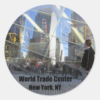 World Trade Center, 2012 Classic Round Sticker