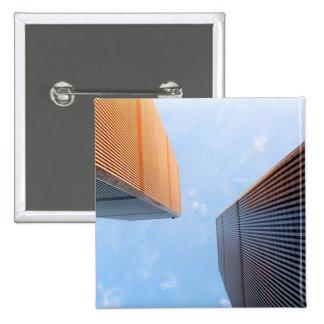 World Trade Center 2 Inch Square Button