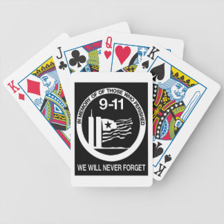 WORLD TRADE CENTER 9/11 BICYCLE PLAYING CARDS