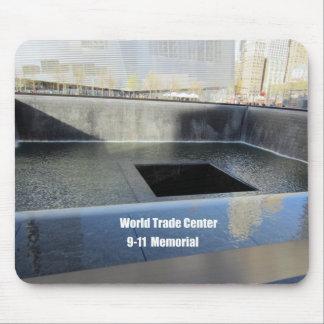 World Trade Center 9 11 monumento Alfombrillas De Raton