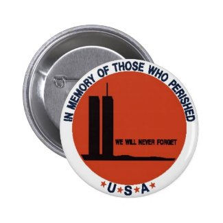 WORLD TRADE CENTER 9/11 PINS