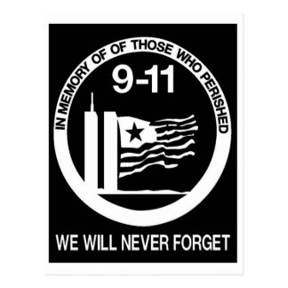 WORLD TRADE CENTER 9/11 POSTCARD