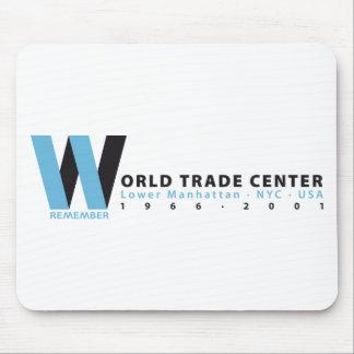 WORLD TRADE CENTER ANNIVERSARY ALFOMBRILLAS DE RATONES