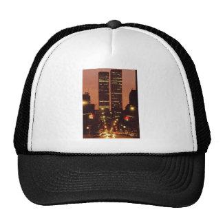 World Trade Center At Dusk Mesh Hat