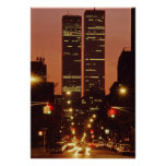 World Trade Center At Dusk Posters