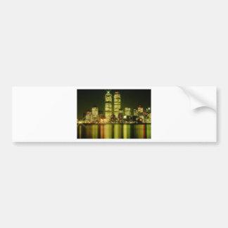 world trade center at night.jpg bumper sticker