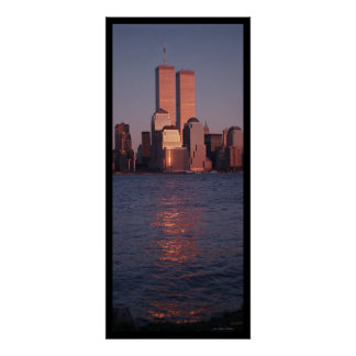 World Trade Center at Sunset Poster