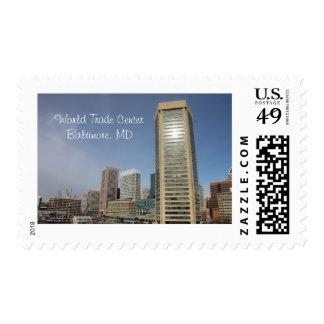 World Trade Center - Baltimore, franqueo del MD Estampillas