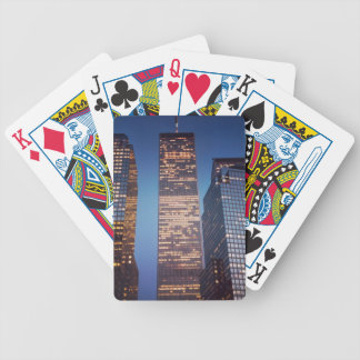 world trade center bicycle playing cards