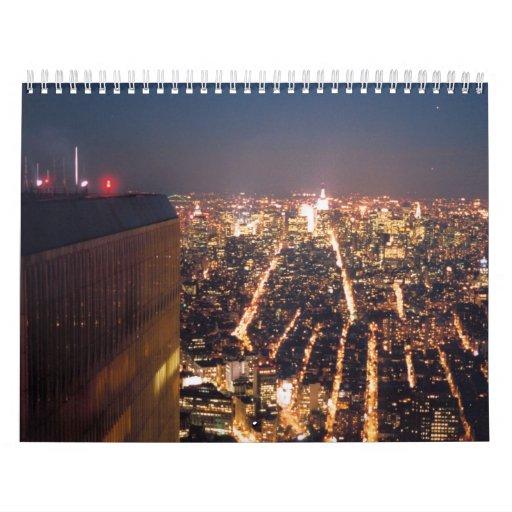 World trade center wall calendars