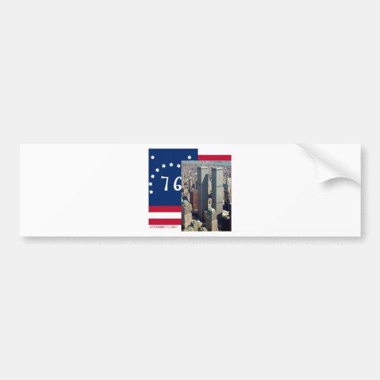 World Trade Center Complex Lower Manhattan 8/2001 Bumper Sticker
