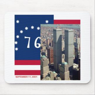 World Trade Center Complex Lower Manhattan 8/2001 Mouse Pad
