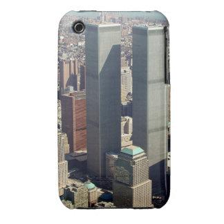 World Trade Center curva Ca de Blackberry de marzo iPhone 3 Case-Mate Carcasa