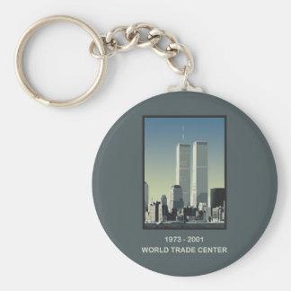 World Trade Center de Nueva York Llavero Personalizado