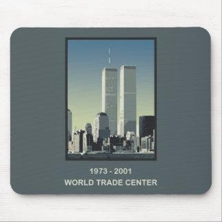 World Trade Center de Nueva York Tapete De Ratones