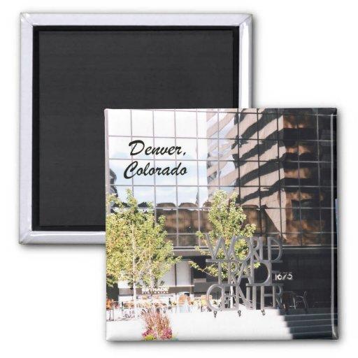 World Trade Center, Denver, Colorado Refrigerator Magnet
