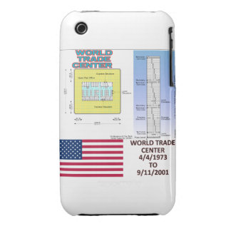 World Trade Center Floor Plan Blackberry Curve  Ca iPhone 3 Case-Mate Case