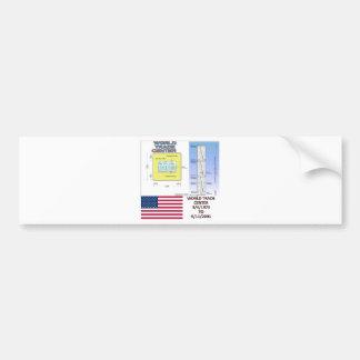 World Trade Center Floor Plans Bumper Sticker