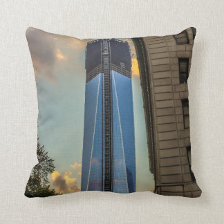 World Trade Center Freedom Tower NYC Pillow