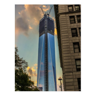 World Trade Center Freedom Tower NYC Postcard
