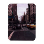 world trade center from the street rectangular photo magnet