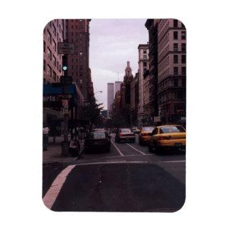 world trade center from the street rectangular photo magnet