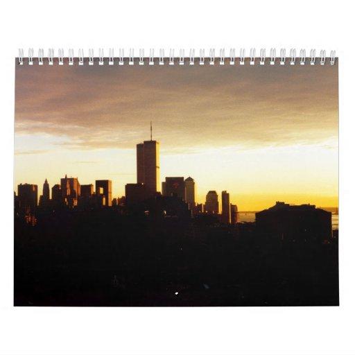 World Trade Center Gold Calendar