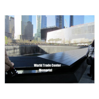 World Trade Center Memorial, New York City Postcard