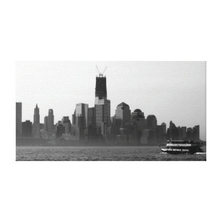 World Trade Center Morning Commute Gallery Wrapped Canvas