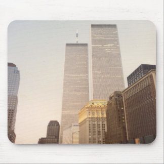 World Trade Center New York City 1987 Tapetes De Ratón