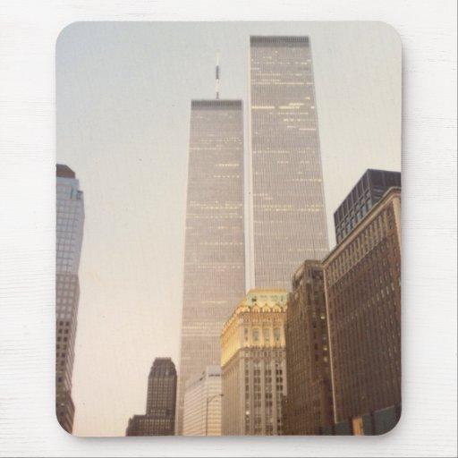 World Trade Center, New York City 1987 Tapetes De Ratón