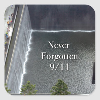 World Trade Center New York City Square Sticker