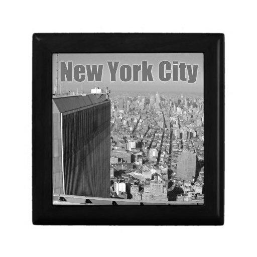 World Trade Center NYC de las torres gemelas Caja De Regalo