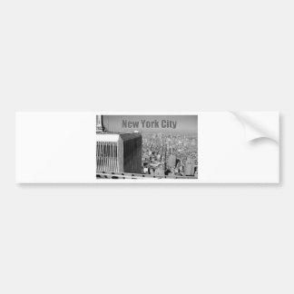 World Trade Center NYC de las torres gemelas Pegatina Para Auto
